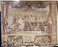 Manif. di bruxelles, arazzi della battaglia di lepanto, battaglie su dis. di lazzaro calvi e figure di luca cambiaso, 1591, 12.JPG