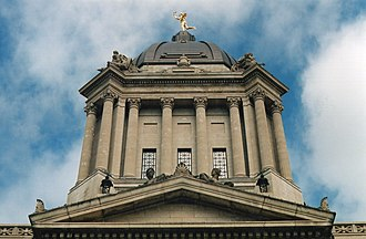 Frank Albo - The Manitoba Legislative Building
