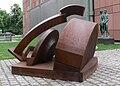 Mannheim Kunsthalle Skulpturengarten Klaus Duschat Segmentbogen.jpg