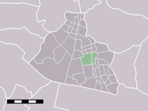 Koog aan de Zaan - Image: Map NL Zaanstad Koog aan de Zaan