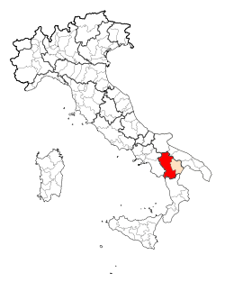 Map Province of Potenza.svg