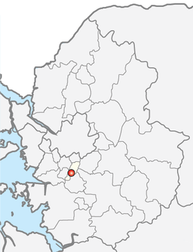 Location of Uiwang