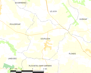 Map commune FR insee code 29065.png