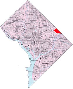 Fort Lincoln within the District of Columbia