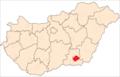 Map of Hódmezővásárhely.png