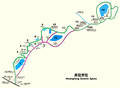 Map of Huanglong Scenic Spots.png