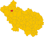 Locatio Triviliani in provincia Frusinas
