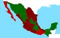 Mapa Mexico 1858 Guerra de Reforma.png