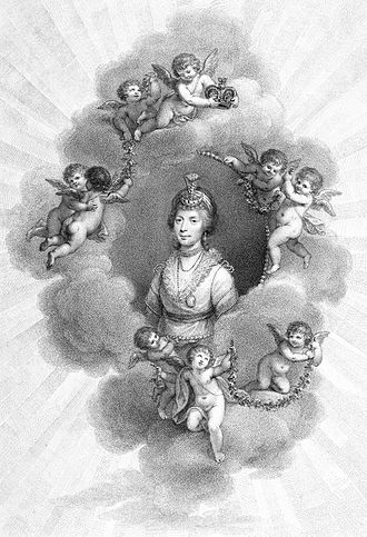 """Charlotte of Mecklenburg-Strelitz - """"Patroness of Botany, and of the Fine Arts"""""""