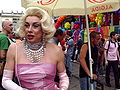 Margot-Marilyn al Gay Pride di Milano 2008 - Foto Giovanni Dall'Orto, 7-June-2008.jpg