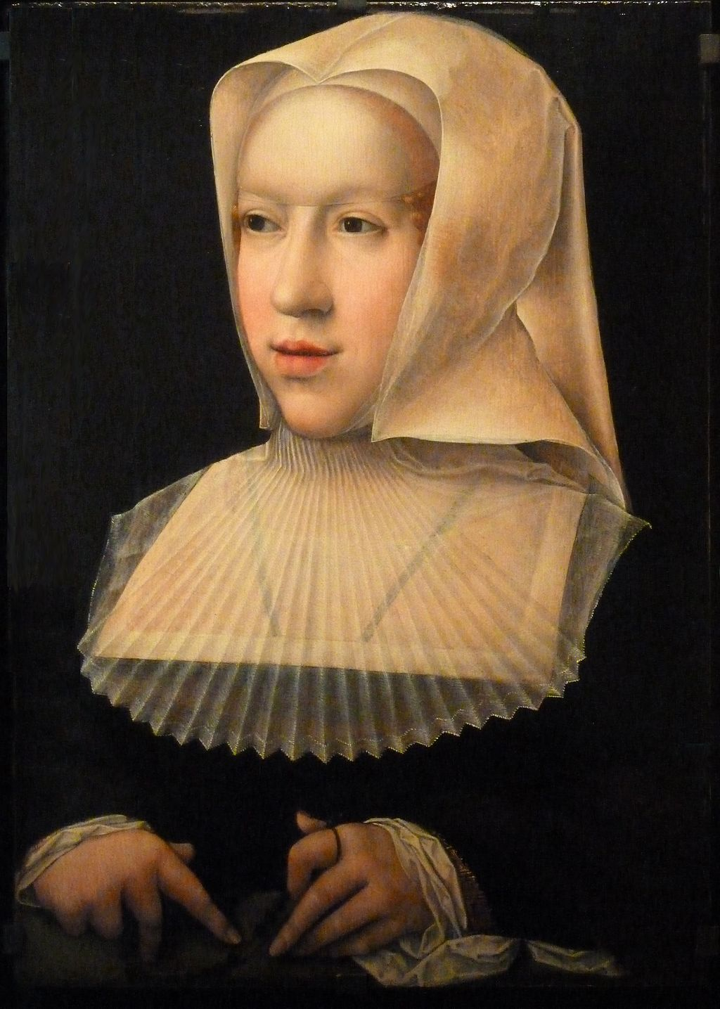 Margarita de Austria. Bernard van Orley, 1520. Real Monasterio de Brou.(Francia)