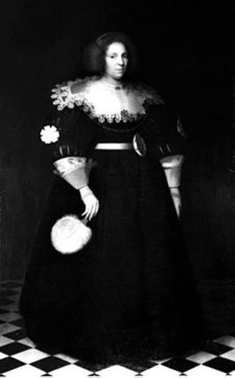 Maria Overlander van Purmerland - Portrait of Maria Overlander