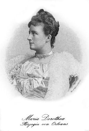 Prince Philippe, Duke of Orléans (1869–1926) - Archduchess Maria Dorothea of Austria