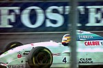 Mark Blundell - Tyrrell 022 at the 1994 British Grand Prix (31697647214).jpg