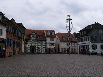 Dieburg - Market square