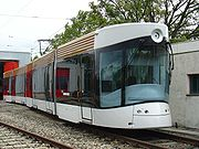 The new tramway.