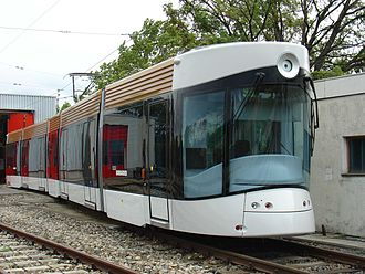 Marseille tramway - Bombardier Flexity Outlook trams used in Marseille