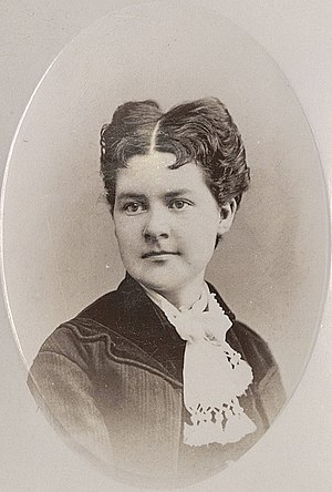 Martha Hughes Cannon - Martha Maria Hughes Cannon in the year 1880.
