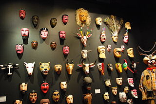 Mexican mask-folk art