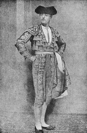 Bullfighter - Early 20th-century photograph of a matador, showing traditional outfit