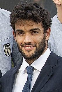 Matteo Berrettini Italian tennis player