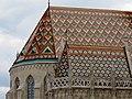 Matthias Church roof detail, 2013 Budapest (264) (13228281035).jpg