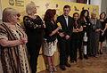 """Mauricio Macri junto a las cantantes del espectáculo """"Gran Diosas"""" (8556899785).jpg"""