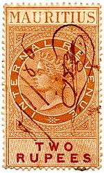 An 1879 2r Internal Revenue Stamp