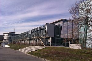 Max Planck Institute for Chemical Ecology - The main building of the institute, located on top of the Beutenberg.