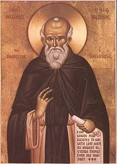 Maximus the Confessor Christian monk, theologian, scholar and saint (c. 580 - 662)