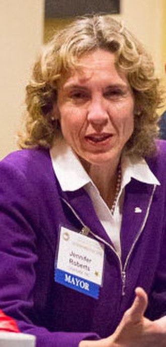 Jennifer Roberts (politician) - Image: Mayor Jennifer Roberts Jan 2016