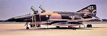 A McDonnell Douglas RF-4C Phantom of the Eglin AFB based 3247th Test Squadron, seen during 1971.
