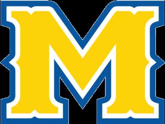 "McNeese State Cowboys basketball - Image: Mc Neese State ""M"" logo"