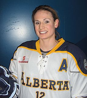 Meaghan Mikkelson Canadian ice hockey player