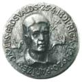 Medal. Yazep Grosswald. 1985. K. Baumanis. Obverse.png