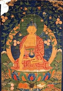 Tôn Ảnh Phật Dược Sư Theo Mật Tông