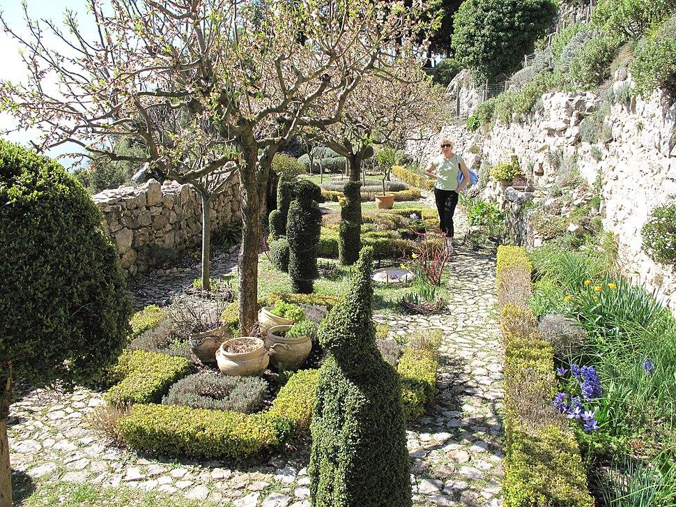 Medieval garden of Sainte-Agnes