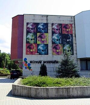 Medzilaborce - Image: Medzilaborce muzeum