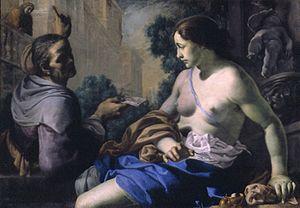 Mei, Bernardino - David and Bathsheba