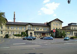 Meiningen station railway station in Meiningen, Germany