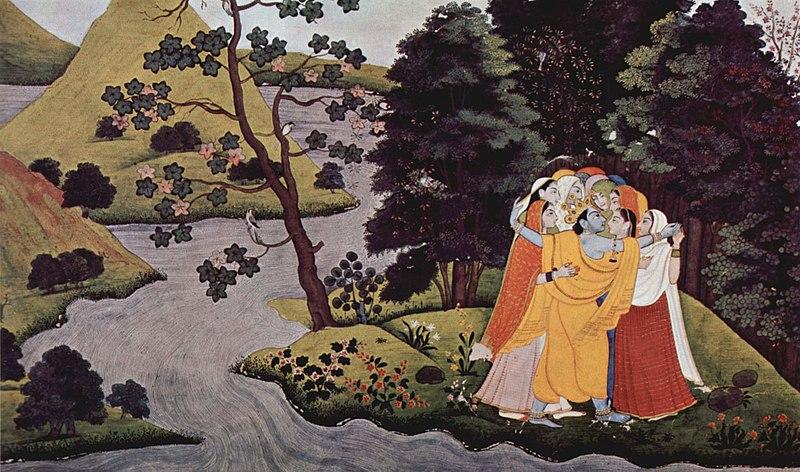 radha and lord krishna relationship poems