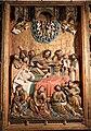 Meister francke, altare di santa barbara, amburgo 1420 circa, dalla chiesa di kalanti, sculture 03 morte della vergine.JPG