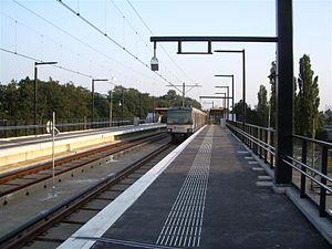 Melanchthonweg RandstadRail station - Melanchthonweg station
