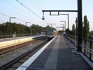 Melanchthonweg RandstadRail station RandstadRail station