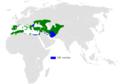 Melanocorypha calandra distribution map (HU).png