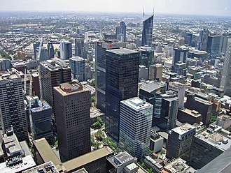 Robert Hoddle - Melbourne CBD, designed by Hoddle