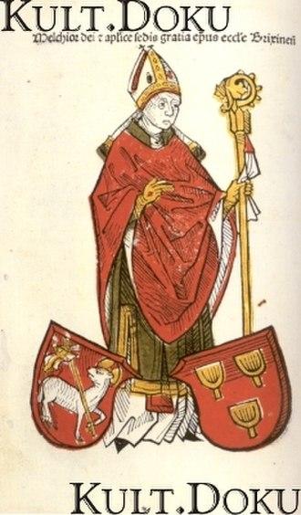 Melchior von Meckau - Melchior von Meckau