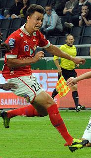 Melker Hallberg Swedish footballer