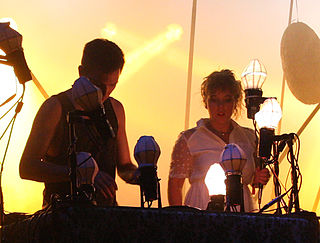 Purity Ring (band) Canadian electronic music duo