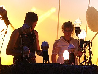 Purity Ring (band) - Image: Melt 2013 Purity Ring 14 (cropped)